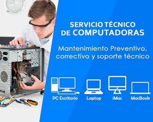 Servicio Técnico Laptop Notebook Pc. Presupuesto Sin Costo