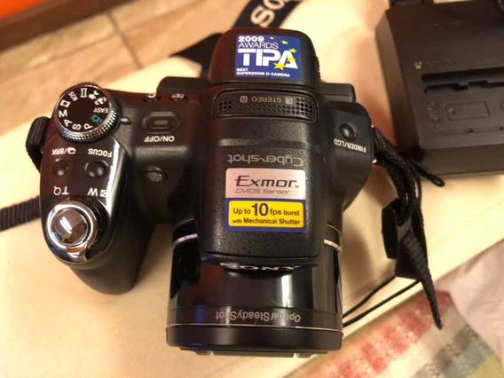 Câmera Ciber-shot Dsc-hx1 Quase Nova Com Bolsa