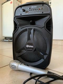 Parlante Bluetooth Eco Smart Con Control Remoto Y Microfono