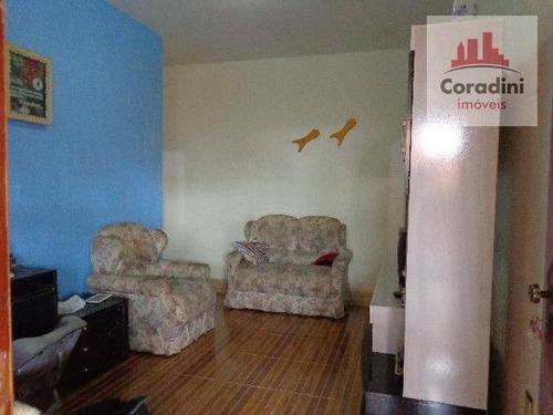 Imagem 1 de 12 de Casa Com 3 Dormitórios À Venda, 66 M² Por R$ 380.000,00 - Jardim Campos Verdes - Nova Odessa/sp - Ca0774