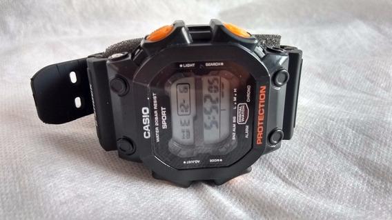 Relógio Militar Tipo Casio Shock Pulseira Borracha