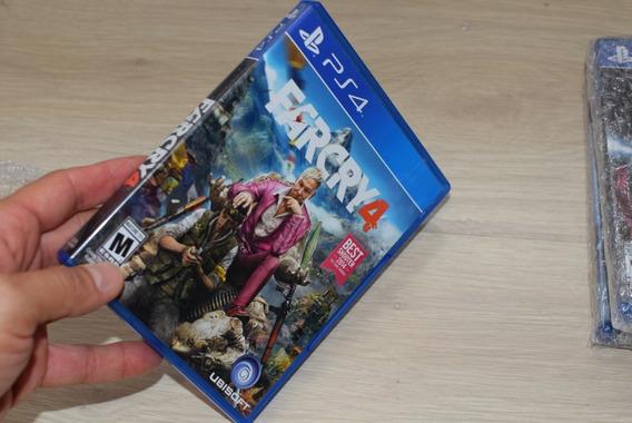 Jogo Far Cry 4 Playstation 4 Ps4 Mídia Física - Perfeito