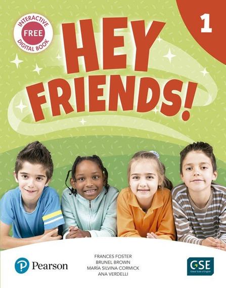 Hey Friends 1 - Pupil´s Book And Workbook - Pearson