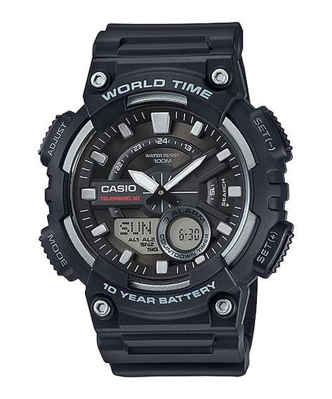 Relógio Casio Original Aeq-110w-1avdf