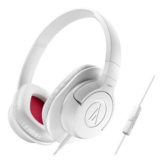 Fone De Ouvido Headset Audio-technica Ath-ax1is White