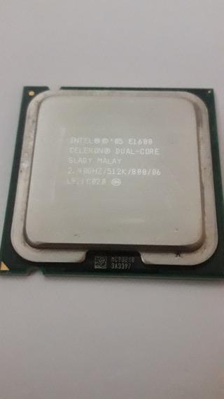 Processador Intel Celeron Dual-core E1600 2,40ghz