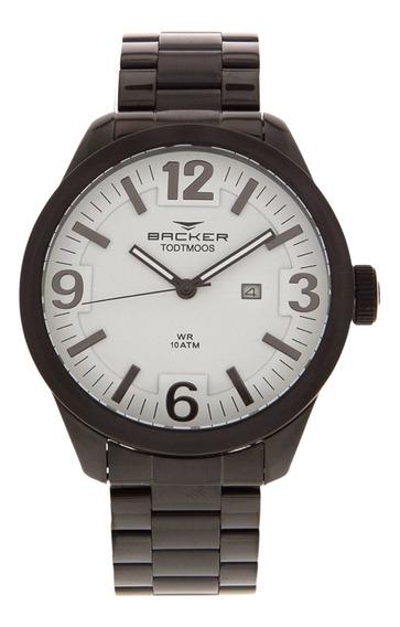 Relógio Masculino Backer 6225253m - Preto