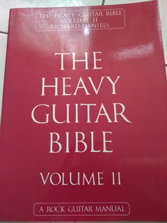 Libro De Musica The Heavy Guitar Bible