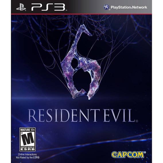 Ps3 Resident Evil 6 Psn Portugues Br Digital Joque Hoje