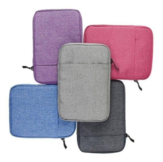 Capa Sleeve Case Kindle Kobo E Lev Cores + Brinde