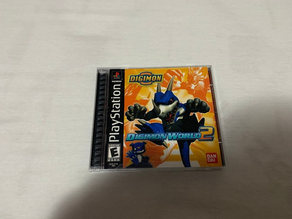 Digimon World 2 Ps1 Americano Original