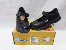 Zapato Escolar Niña N° 30, 32 Marca Pluma