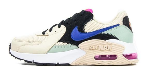 Tenis Nike Wmns Air Max Excee Beige/negro Cd5432200