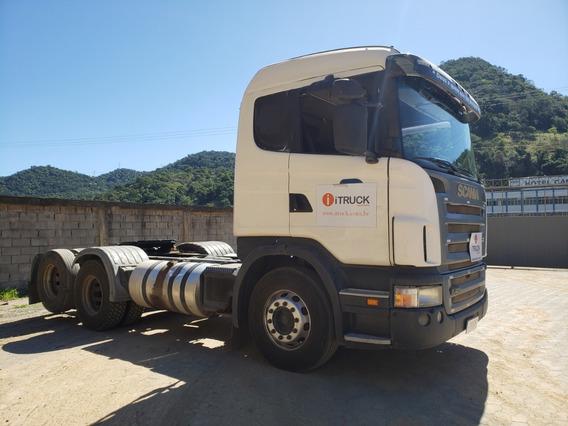 Scania G420 A 6x2 Ano 2009 Toda Original = Volvo Mb