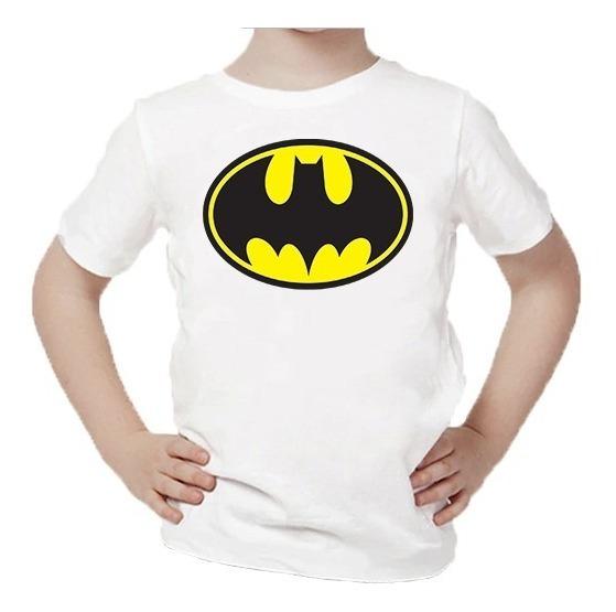 Playera Para Niños Estampado De Batman