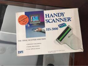 Handy Scanner Hs3000 De Mao Vintage Antigo Novo