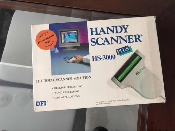 Handy Scanner De Mao Hs3000 De Mao Vintage Antigo