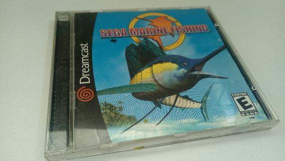 Jogo Dreamcast Sega Marine Fishing Original (frete Cr)