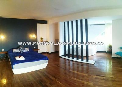 Preciosa Casa Amoblada Arriendo - Poblado Casaloma Cod: 9579