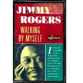 Fita Cassete ( K7 ) / Jimmy Rogers = Walking By Myself (impo