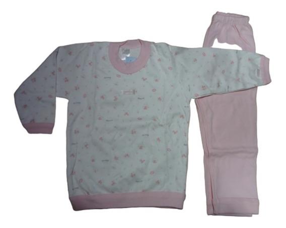 Pijama Invierno Camiseta Y Pantalón - Gamise - Nena