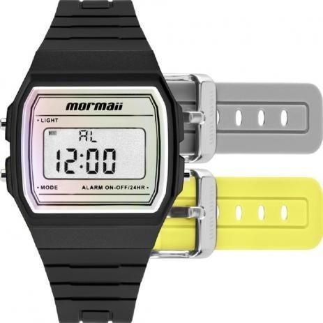Relógio Mormaii Kit Troca Pulseira - Mojh02ar/8p