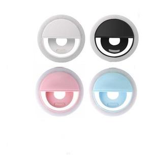 Luz Selfie Ring Light Clipe Anel Led Flash Celular Novidade