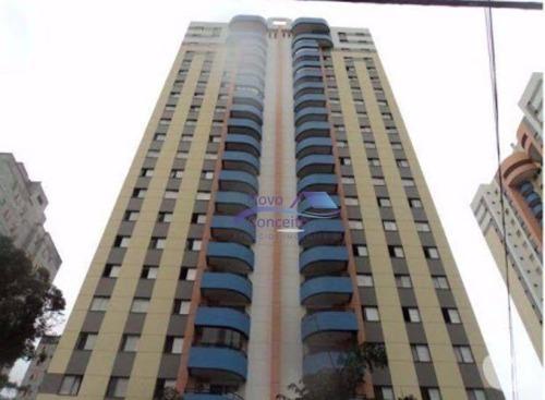 Apartamento Duplex Com 3 Dormitórios À Venda, 1800 M² Por R$ 1.170.000,00 - Tatuapé - São Paulo/sp - Ad0001