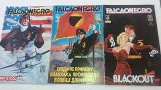 Hq Falcão Negro Minissérie Em 3 Edições Completa * A6