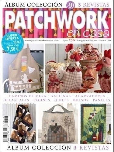 Álbum 3 Revistas Patchwork Bordado Importado Labores De Ana