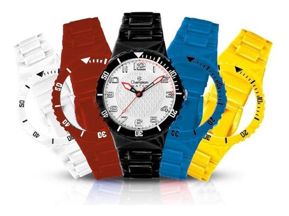Relógio Champion Infantil Cp38086x Troca Pulseiras N.f.