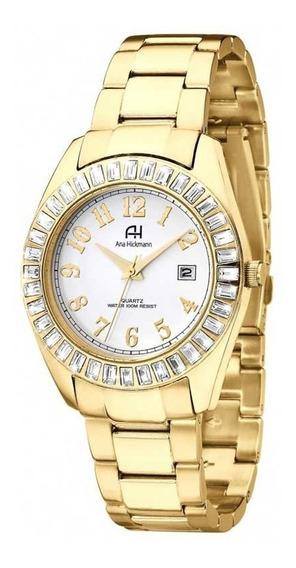 Relógio Ana Hickmann Dourado Ah20131h