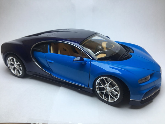 Miniatura Bugatti Chiron Escala 1/24