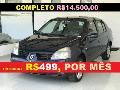 Financiamento Com Score Renault Clio Sedam Completo