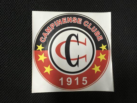 Adesivo Campinense Clube - Time De Futebol De Campina Grande