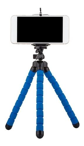 Imagem 1 de 8 de Kit 15 Mini Tripé Flexível Suporte Celular Cameras - Barato