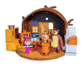 Masha E O Urso - Playset Da Casa Do Urso