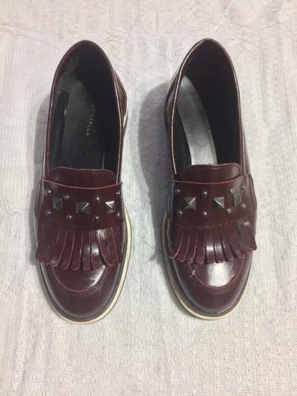 Zapatos Batistella - Mocasín Acharolado Bordo Nro.37