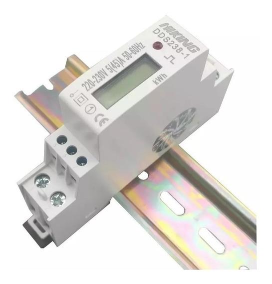 Medidor Consumo De Energia Monofásico 220v 45a 50hz- 60hz