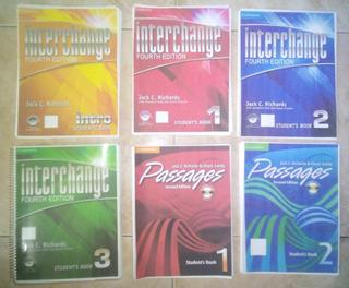 Libros Interchange ( Fyr Lois ) Combo Completo Full Color