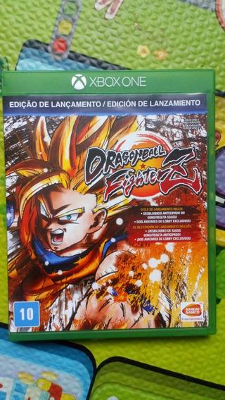 Dragon Ball Fighter Z Xbox One Usado Mídia Física