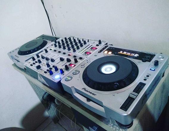 Cdj 800 Mk2.mixer Djm 700 Com Case