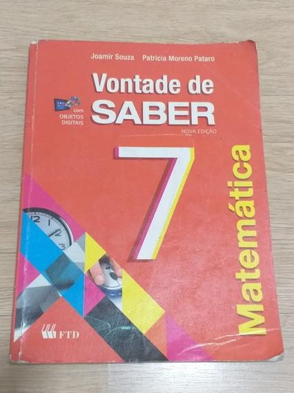Vontade De Saber Matemática - 7º Ano Ftd