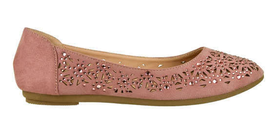 Zapato Chatita Ballerina Korium Bling - Toto