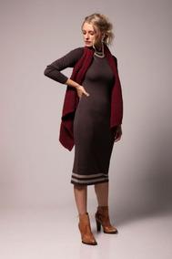 9dbff18af Vestido Tricot Biamar - Calçados, Roupas e Bolsas no Mercado Livre ...