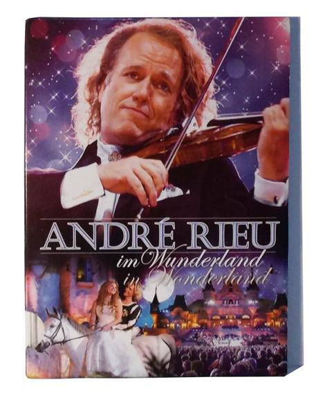 Dvd André Rieu In Wonderland Lacrado Importado Duplo