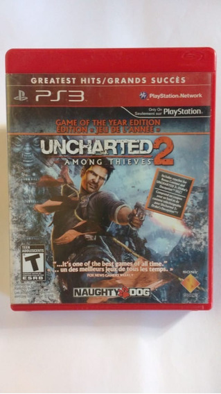 Uncharted 2 - Mídia Física - Ps3