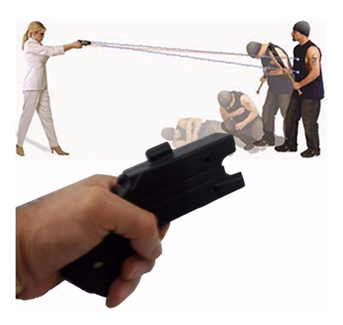 Pistola Picana Descarga 80kv Al Oponente Con 5 Cartuchos