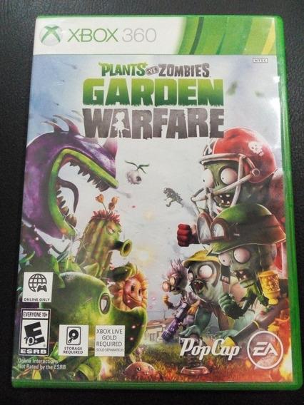 Plants Vs Zombies: Garden Warfare Xbox 360 Original Frete$14