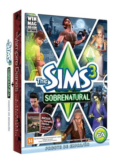 The Sims 3 Sobrenatural + Vampire Diaries